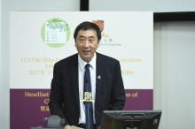 Prof. Joseph Sung, Vice-Chancellor and President, The Chinese University of Hong Kong.