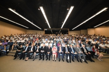 Group photo of LUI Che Woo Prize − Prize for World Civilisation 2017 Sustainability Prize Laureate Public Lecture