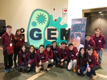 The CUHK genetic engineering team wins Gold medal at the iGEM 2017 Giant Jamboree held in Boston, USA.