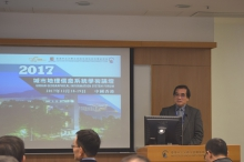 Prof. LIN Fengtian, National Cheng Kung University delivers a speech.