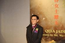 Prof. Yiu Chun-chong Josh, Director of the Art Museum, CUHK delivers a welcoming speech.