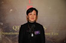 Prof. Xu Xiaodong, Curator and Associate Director, Art Museum, CUHK accounts for the exhibition.