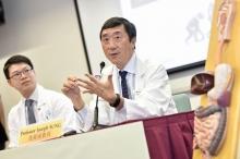 沈祖堯教授指出,年齡、性別、有否吸煙、是否肥胖及有否家族史這五項因素與罹患大腸癌的風險有關,團隊將進一步研究大腸癌年輕化的原因。