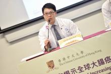 雷諾信醫生希望藉着是次研究發表,提醒社會應關注大腸癌年輕化問題。