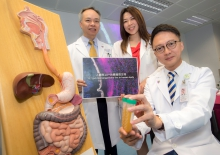 The Faculty of Medicine at CUHK established Asia's first microbiota transplantation and research centre. (From left) Professor Paul Kay Sheung CHAN, Chairman of the Department of Microbiology; Professor Siew Chien NG, Professor of the Department of Medicine and Therapeutics; and Professor Francis KL CHAN, Dean of the Faculty of Medicine and Choh-Ming Li Professor of Medicine and Therapeutics at CUHK.