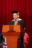 Professor Rocky S. Tuan, Vice-Chancellor and President of CUHK delivers a speech.