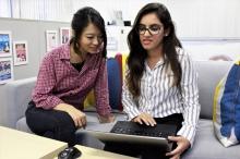 Dhwani Anand同学于东京一所知名的数码营销企业实习,感激同事的热心帮忙。