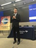 韩立明同学于上海的美银美林集团实习,建立了他的职业道德及专业态度。
