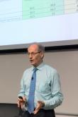 Michael Marmot教授主講以「健康公平與可持續發展」為題的講座。