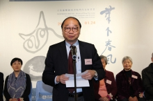 Prof. Henry Wong, Head of New Asia College, CUHK delivers a welcoming speech.