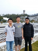 (From left) Chun-shing Wong and Kam-chuen Tung, 3rd place winners of the Paris prize, and Jianhao Shen, 2nd place winner of the Individual prize.