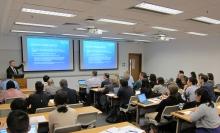 聯合研究中心所長、埃克塞特大學數據科學及統計學首席教授兼數學系主管Gavin Shaddick教授,公布獲英國研究與創新部資助,成立環境智能博士培訓中心。