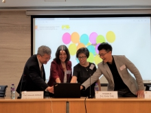 Official launch of the Asia Branch of Bilingualism Matters at CUHK.