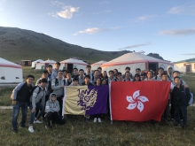 CUHK Robotic team contest at Mongolia.