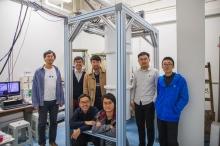 The CUHK research team: (from left, back row) Sen Yang, Swee Kuan Goh, Kin On Ho, Wei Zhang and Yang Chen; (from left, front row) King Yau Yip and King Yiu Yu.