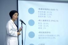 薛咏珊医生表示,患有慢性痛症的长者会因身体长期承受痛楚而衍生情绪及其他身体机能方面的问题。