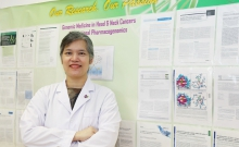 Professor Vivian LUI, Associate Professor of the School of Biomedical Sciences at CU Medicine, and her research team, has identified that MAPK pathway mutations found in almost 20% of head and neck cancer patients can be a novel biomarker to predict favourable clinical outcomes with standard therapy. Their survival also doubled when compared with other patients.
