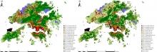 利用不同方法測繪香港的局部氣候分區。