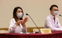 黄秀娟教授表示,中大医学院研发的益生菌配方是建基于中国人的肠道微生态,针对与免疫力息息相关的益菌,有望增强免疫力。