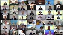 嘉賓與粵港澳高校聯盟40所成員院校代表雲集聯盟年會