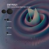(Image credit: Deborah Ferguson, Karan Jani, Pablo Laguna and Deirdre Shoemaker) GW190521 Simulation - Most massive binary black hole merger