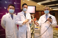 The Faculty of Medicine of The Chinese University of Hong Kong (CU Medicine) has recently published two studies on the disease, in both epidemiology and treatment aspects, in the prestigious international urological journal European Urology. (From left: Professor Martin Chi Sang WONG, from The Jockey Club School of Public Health and Primary Care; Assistant Professor Dr. Jeremy Yuen Chun TEOH and Professor Anthony Chi Fai NG from the Division of Urology, Department of Surgery at CU Medicine)