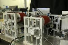 中大研發之精密卷對卷多層印刷系統。