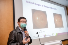 Prof. Benny Zee hopes that the retinal image analysis technology can be used as an objective screening method in a community setting and provide an efficient tool to assess the risk of autism before clinical and behavioural assessment.