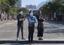 From Left: Kessay Chan, Michael Chan, and Amanda Li.
