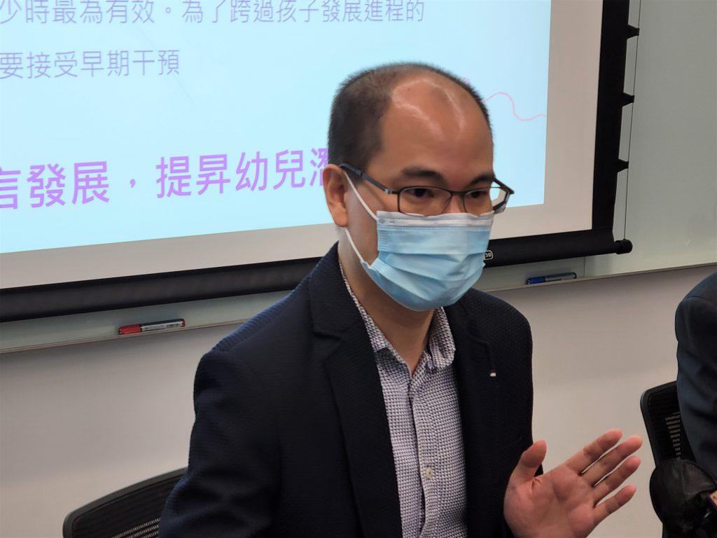 黃教授表示,現時收集的測試數據已覆蓋廣東話及普通話的群體,其團隊亦正與海外大學合作,研究對英語語言發展的預測準確度。