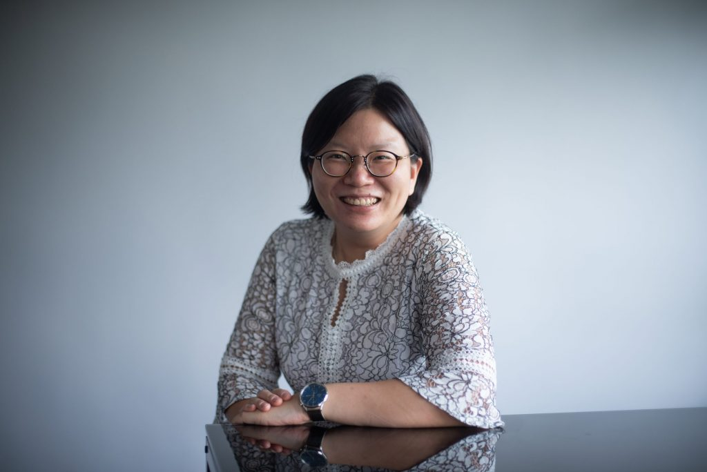 蘇詠芝教授。