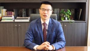 中大文學院院長唐小兵教授為頒獎典禮致開幕辭。