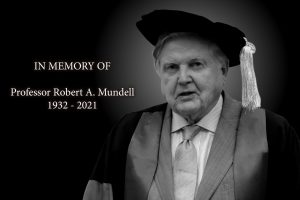 永遠懷念蒙代爾教授。
