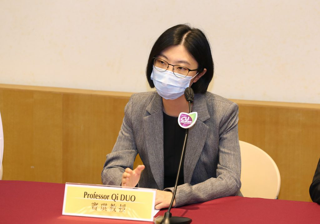 Prof. Qi DOU states that the established AI system is validated on multiple independent cohorts, showing the potential and feasibility to build large-scale medical datasets with privacy protection, so as to rapidly develop reliable AI models amidst a global disease outbreak such as the COVID-19 pandemic.