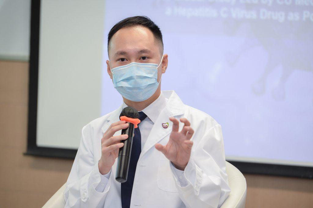 吳濰龍教授表示,透過了解司美匹韋在單獨或聯合使用時抑制病毒蛋白的分子機制,將為對抗新冠病毒帶來更多研究方向。