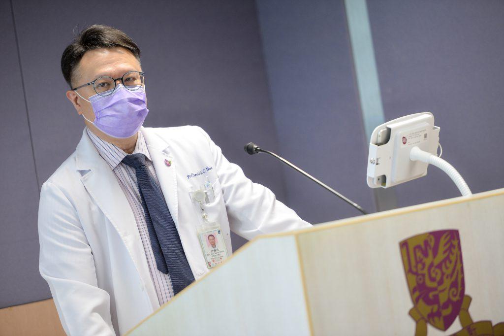 許樹昌教授表示,倘若司美匹韋經臨床實驗證實有效能夠抑制新冠病毒,混合瑞德西韋使用,或可縮短療程,並進一步探究減低死亡率等其他可能性。