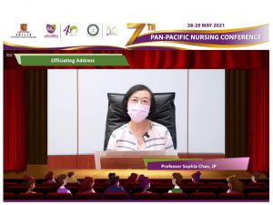 Officiating address by Professor Sophia Chan, Secretary for Food and Health