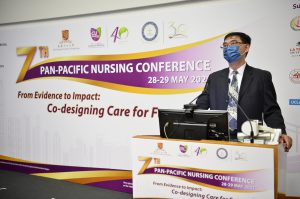 Welcoming address by Professor Wai-tong Chien