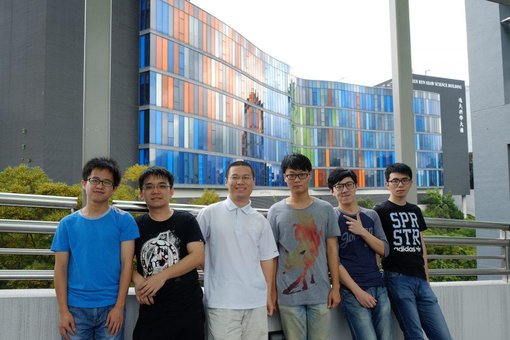 孫賢開教授(左三)及其研究團隊。