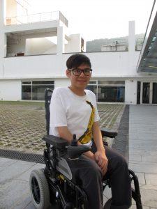 Wong Kwan Hang (Photo from Chung Chi Campus Newsletter Vol.51 No.17)