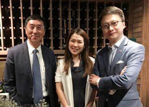 (左起)沈祖堯教授、黃秀娟教授及陳家亮教授