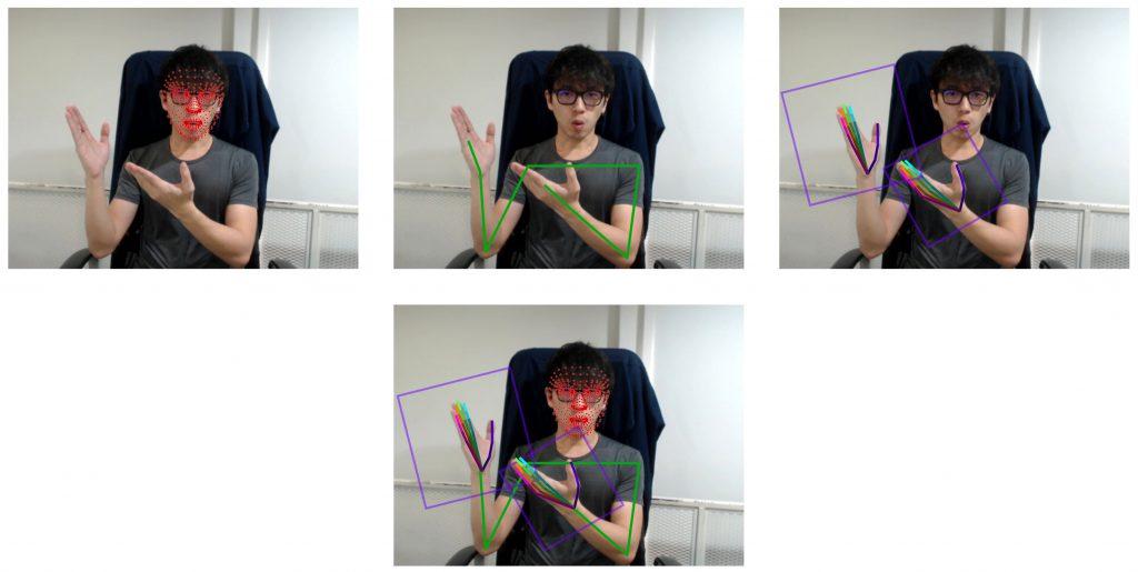 使用多種機器學習模型來追踪手語的語音特徵