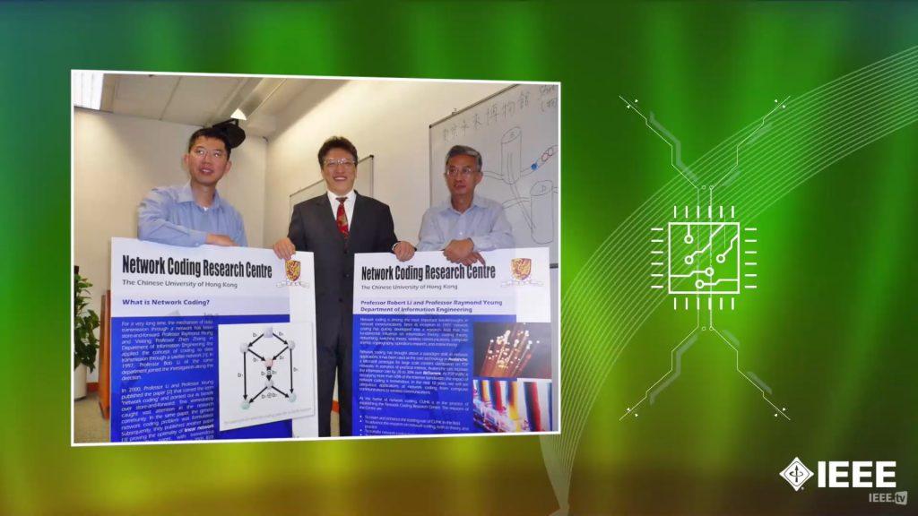 楊教授在上世紀90年代提出網絡編碼的嶄新概念,這概念改寫了我們對網絡通訊的認知。通過對網絡內部的數據包進行編碼,網絡的信息傳輸量可以大幅提升。