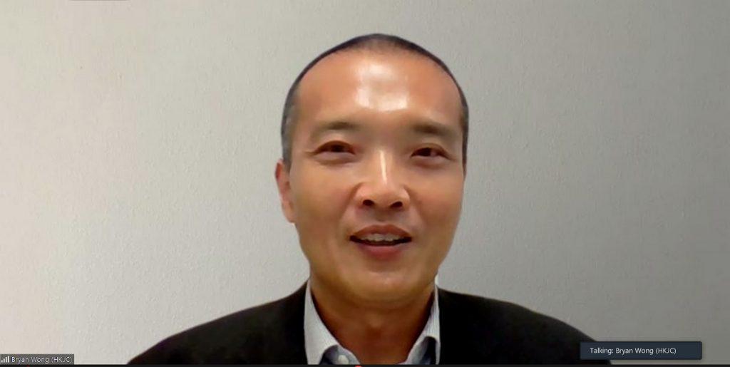 Mr. Bryan Wong, Head of Charities (Grant Making), The Hong Kong Jockey Club